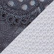 2 Pack Textured Lace Brazilian Knickers, GREY MIX, swatch