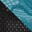 2 Pack Textured Lace Brazilian Knickers, TEAL MIX, swatch