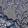 Artisan Lace Brazilian Knickers, NAVY MIX, swatch