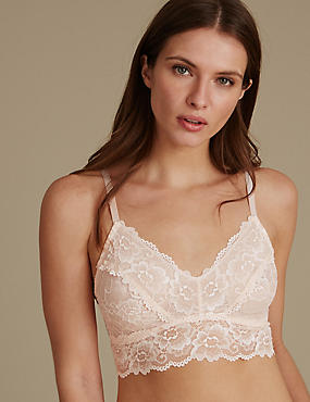 Isabella Lace Bralet, NUDE PINK, catlanding