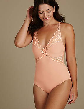Non-Padded Lace Body, LIGHT COPPER, catlanding