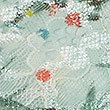 Printed Lace Non-Padded Bralet, SAGE MIX, swatch