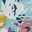 Artiste Print Camisole & French Knickers, LIGHT OCEAN, swatch
