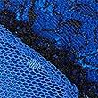 Lace Padded Balcony Bra A-E, BLUE MIX, swatch
