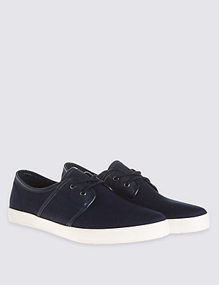 Lace-up Shoes, NAVY, catlanding