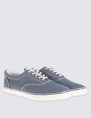 Lace-up Shoes, CHAMBRAY, catlanding