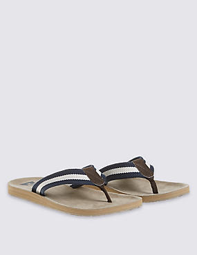 Striped Flip-flop, NEUTRAL, catlanding