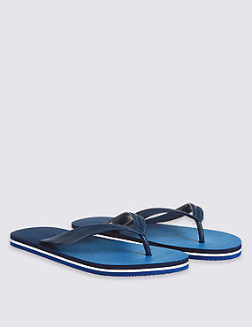 Ombre Flip-flops, BLUE MIX, catlanding