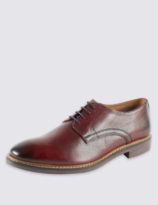 Кожаные туфли-дерби