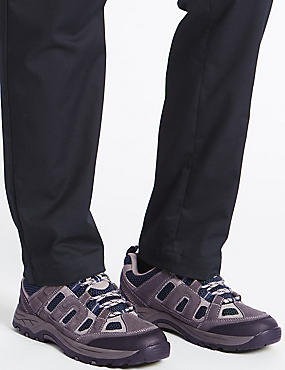 Lace-up Trainers, MEDIUM GREY, catlanding