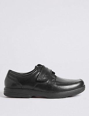 Airflex™– Chaussures en cuir extra-larges, NOIR, catlanding