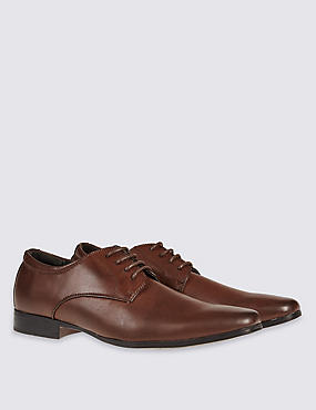Lace-up Derby Shoes, BROWN MIX, catlanding