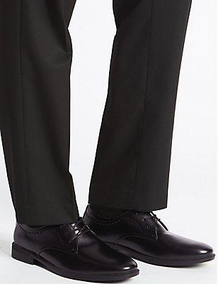 Derby Lace-up Shoes, BLACK, catlanding