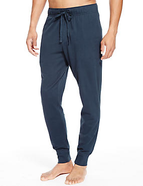 2 Pack Pure Cotton Adjustable Waist Joggers