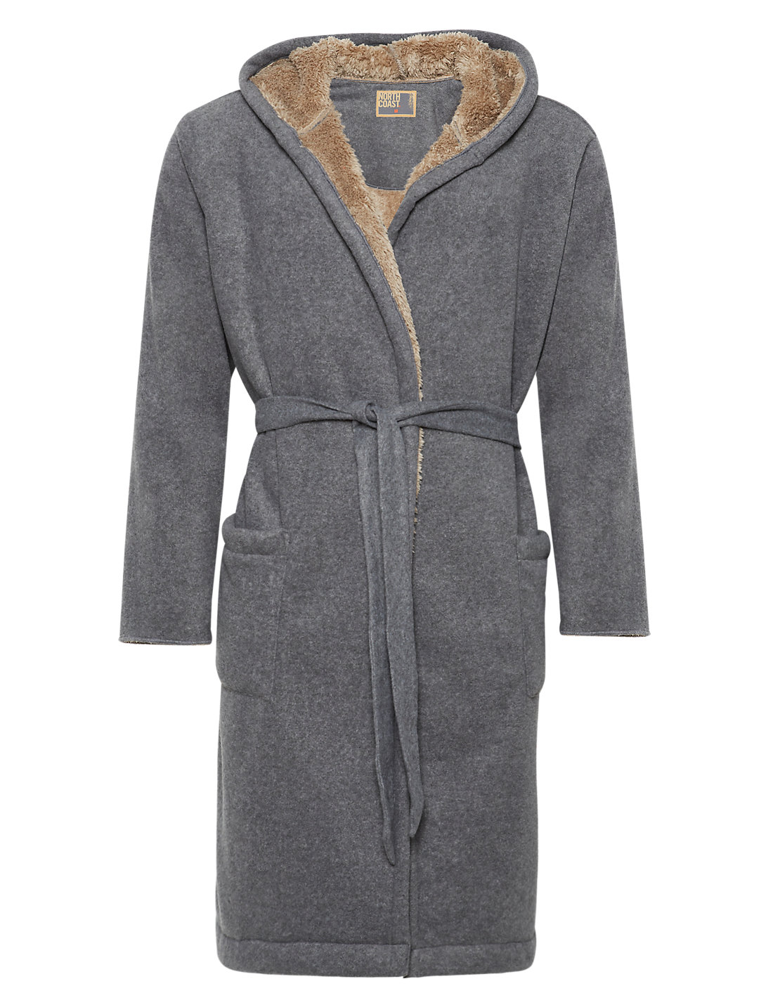 Contemporary Fleece Lined Dressing Gown Motif - Wedding and flowers ...