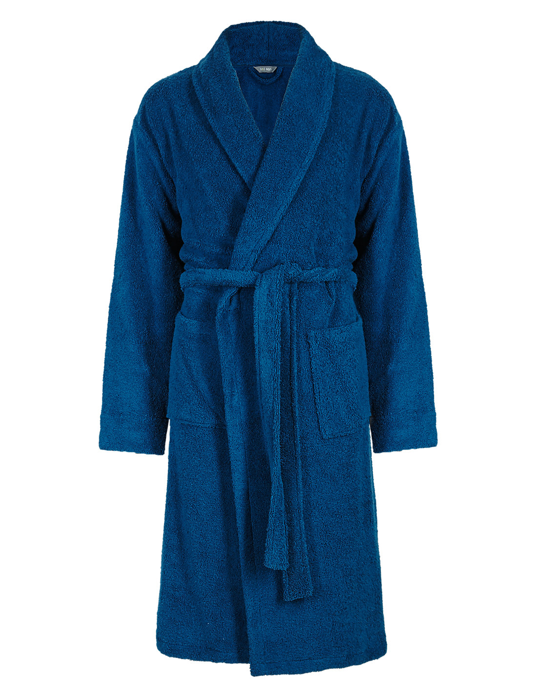 Cotton Rich Towelling Dressing Gown | M
