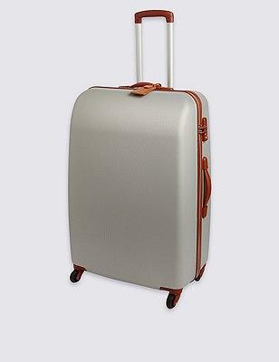 Ultralight Heritage 4 Wheel Cabin Suitcase, SILVER, catlanding
