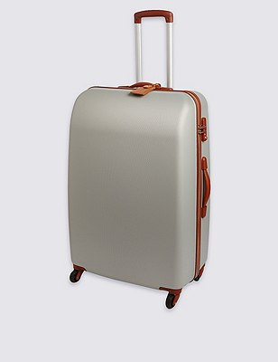 Ultralight Heritage 4 Wheel Medium Suitcase, SILVER, catlanding