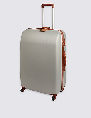 Ultralight Heritage 4 Wheel Large Suitcase, SILVER, catlanding
