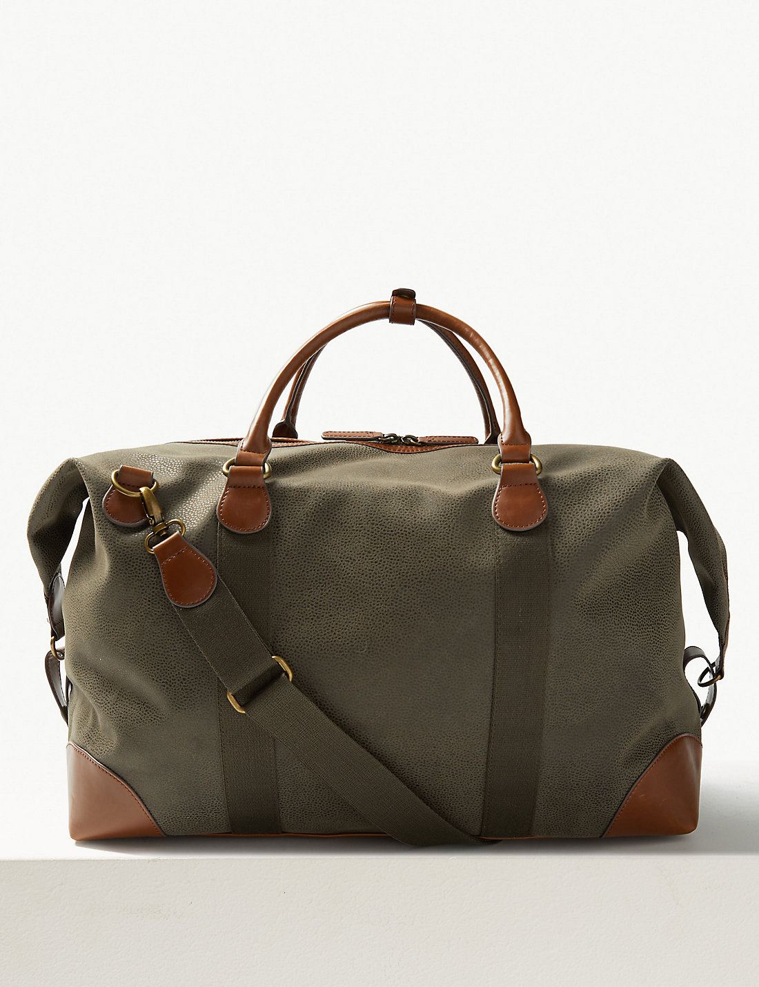 Flocked Holdall | M&S