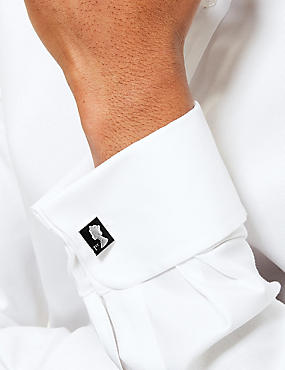 Stamp Cufflinks, BLACK, catlanding