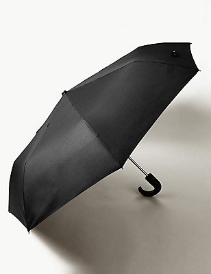 City Umbrella with Stormwear™ & Windtech™, BLACK, catlanding