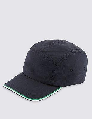 Cool & Fresh™ Panelled Baseball Sports Hat with Stormwear™, NAVY MIX, catlanding