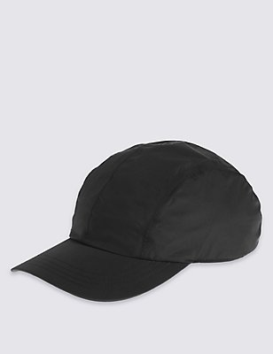 Waterproof Baseball Cap, BLACK, catlanding