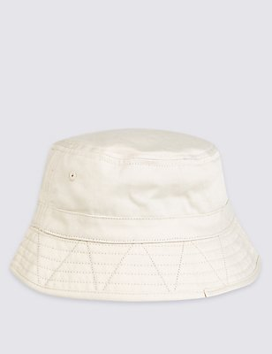 Fisherman Hat, STONE, catlanding