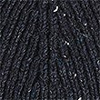 Ribbed Beanie Hat, NAVY, swatch