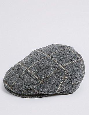 Casquette anglaise 100% laine, dotée des technologies Stormwear™ et Thinsulate™, GRIS, catlanding