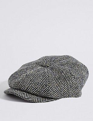 Chapeau style casquette 100% laine, AVOINE ASSORTI, catlanding