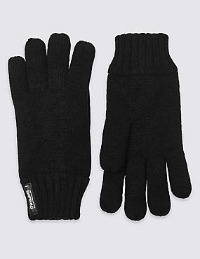 Gants Thinsulate™ en maille, NOIR, catlanding