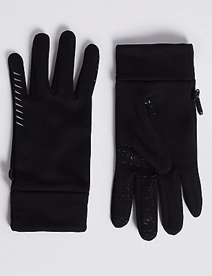 4 Way Stretch Performance Gloves, BLACK, catlanding