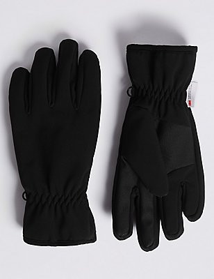 Wind Resistant Performance Gloves , BLACK, catlanding