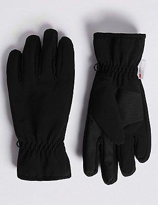 Performance - Windbestendige handschoenen , ZWART, catlanding