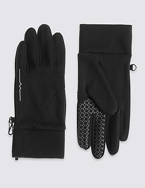 Gloves With Stormwear™, BLACK, catlanding