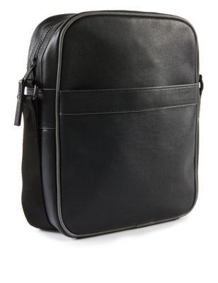 Мужская сумка-мессенджер из искусственной кожи