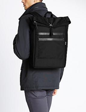 Cordura® Scuff Resistant Rucksack, BLACK, catlanding