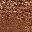 Pebble Grain Leather Slim Cross Body Bag, TAN, swatch
