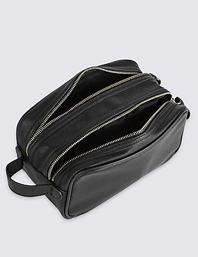 Washbag, BLACK, catlanding