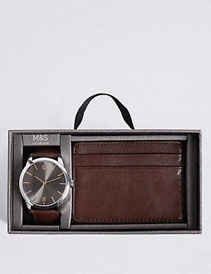 Watch & Wallet Gift Set, , catlanding