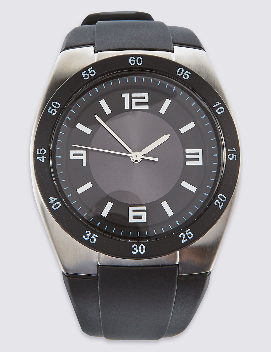 Watch marks on wrist - Silicone Sports Watch