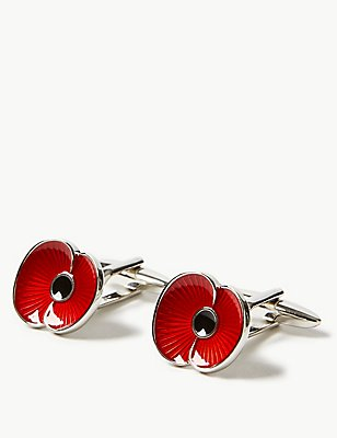 Manchetknopen van The Poppy Collection®, , catlanding