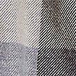 Bufanda 100% algodón de cuadros en bloque, MEZCLA DE TONOS MARINO, swatch
