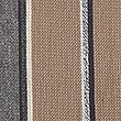 Striped Raschel Scarf, OATMEAL, swatch