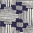 Pure Cotton Geometric Print Lightweight Scarf, NATURAL MIX, swatch