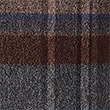 Pure Wool Checked Scarf, BURGUNDY, swatch