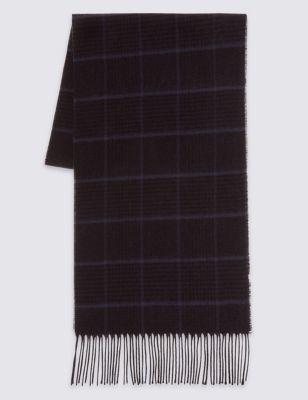 Классический шарф в клетку