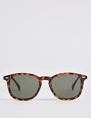 Klassische Sonnenbrille mit Schlüsselloch, BRAUN, catlanding